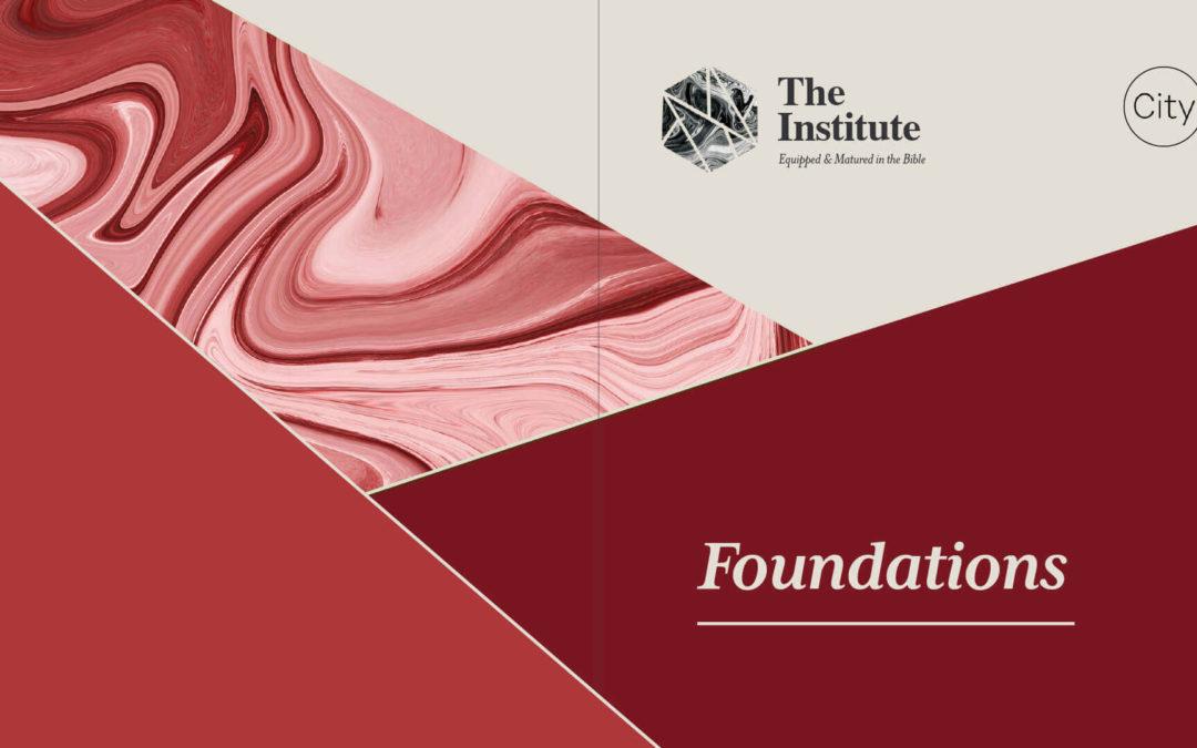 Next Institute Course: Foundations